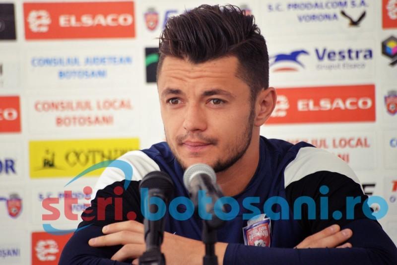 Albetro Cobrea stie care este atuul echipei FC Botosani in duelul cu Dinamo!