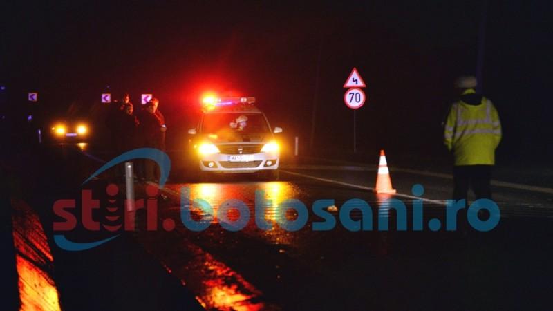 Alcoolul mai face o victima de Craciun! Un barbat a ajuns la spital, dupa un accident pe drumul Botosani - Suceava! FOTO