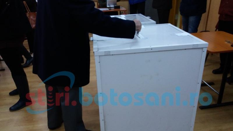 Alegeri parlamentare: Primele rezultate la Botoșani, conform numărătorii paralele