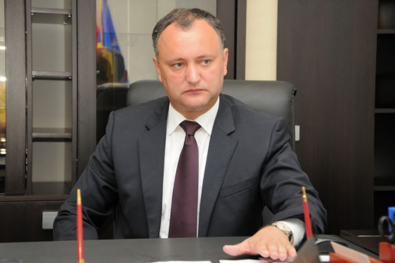 ALEGERI în Moldova: Igor Dodon este președintele Republicii Moldova
