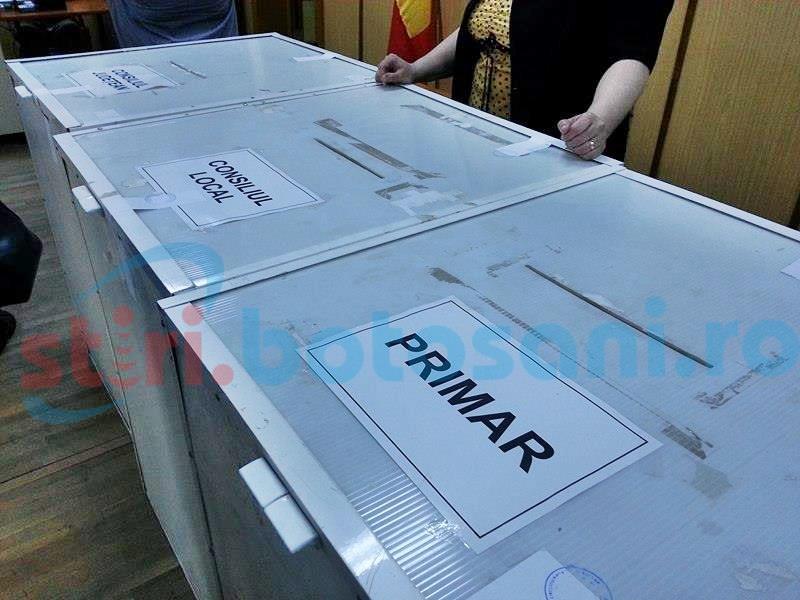Alegeri parțiale doar într-o comună din județul Botoșani!
