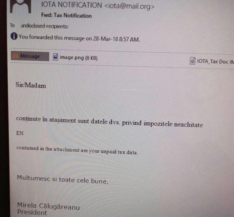 """ALERTĂ de la ANAF: """"Este un virus!"""""""