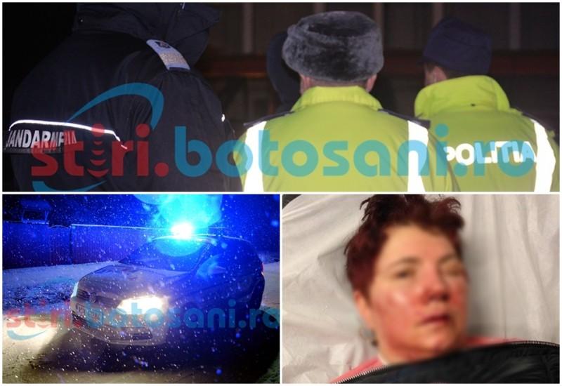 ALERTĂ MAXIMĂ în municipiul Botoșani! Cinci femei au fost bătute și jefuite, după lăsarea întunericului! Una dintre ele a fost trimisă la Iași! FOTO