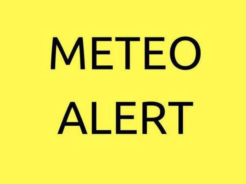 ALERTĂ METEO: Cod Galben în județul Botoșani până la 15.00!