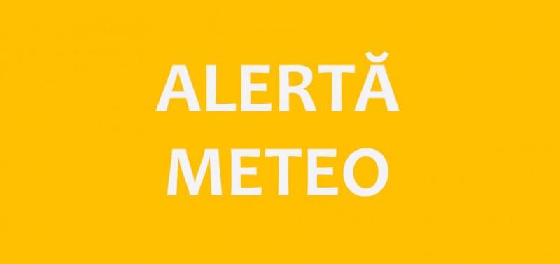 ALERTĂ METEO: Cod Portocaliu de ploi torențiale și vijelii în județul Botoșani!