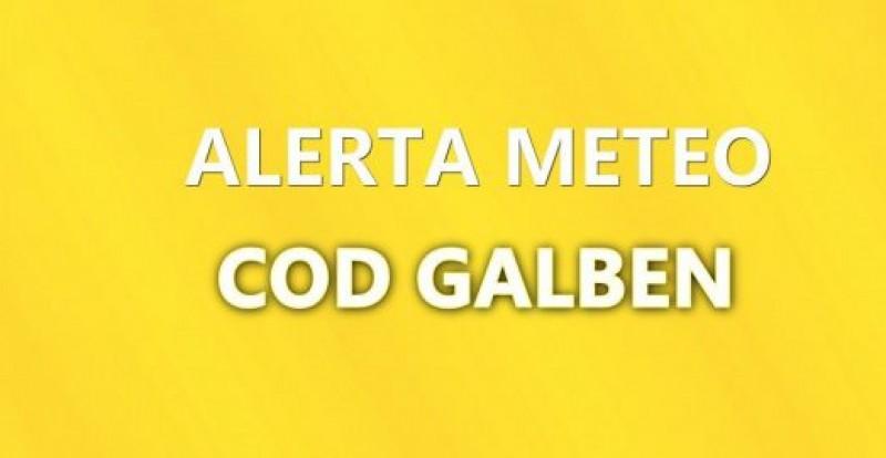 ALERTĂ METEO: Județul Botoșani, sub atenționare de Cod Galben!