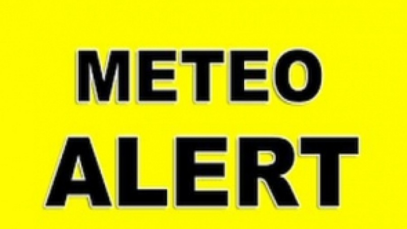 ALERTĂ METEO: Mai multe localități din județul Botoșani, sub avertizare de COD GALBEN!