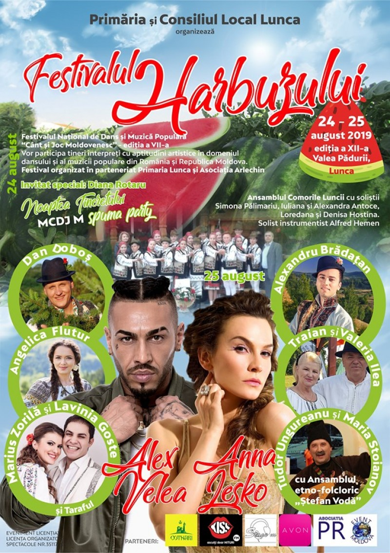 Alex Velea, invitatul comunei cu cei mai renumiți harbuji din Moldova
