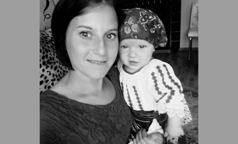 Alexandra, tânăra pentru care s-au mobilizat zeci de botoșăneni, a plecat după copilul din Ceruri