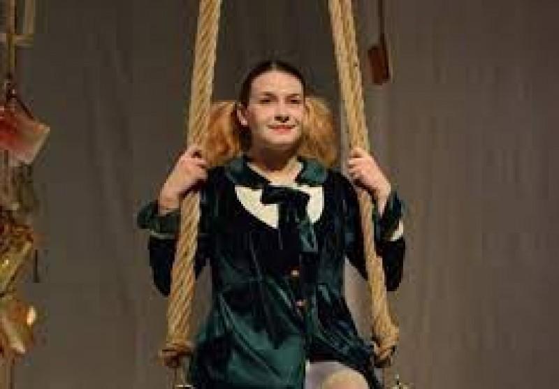 Alexandra Vicol, actrița teatrului botoșănean cu cele mai multe voturi din partea publicului la Gala UNITER 2021