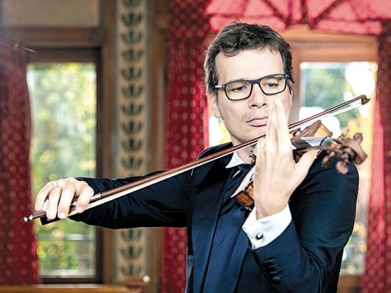 """Alexandru Tomescu: """"Cu vioara Stradivarius sau fără ea, eu merg mai departe cu proiectele mele muzicale. Vreau să mă concentrez pe Şcoala de la Mihăileni"""""""