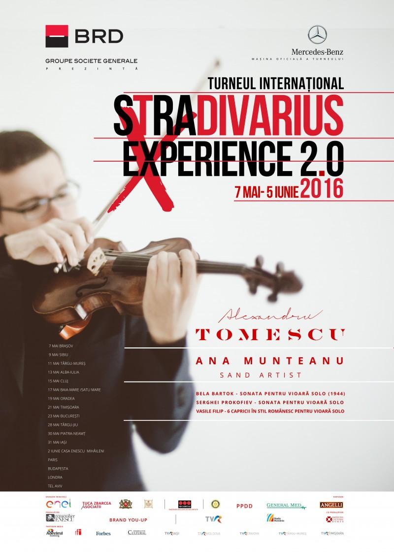 """Alexandru Tomescu va susţine un recital, joi, la Mihăileni, pentru înfiinţarea Centrului Cultural Internațional de Muzică și Arte Frumoase """"George Enescu""""!"""