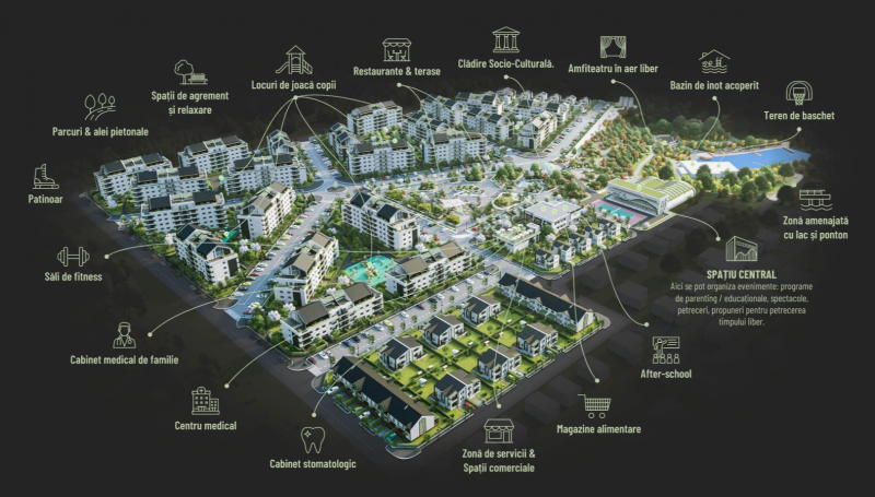 Alfa Park Residence – cel mai nou proiect al grupului de firme Electroalfa și primul cartier autonom din Botoșani