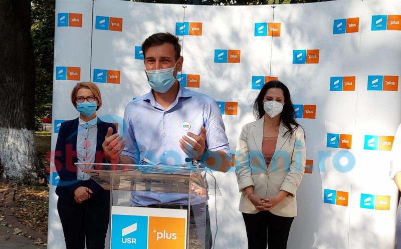 Alianța USR PLUS Botoșani își depune listele cu candidați pentru alegerile parlamentare