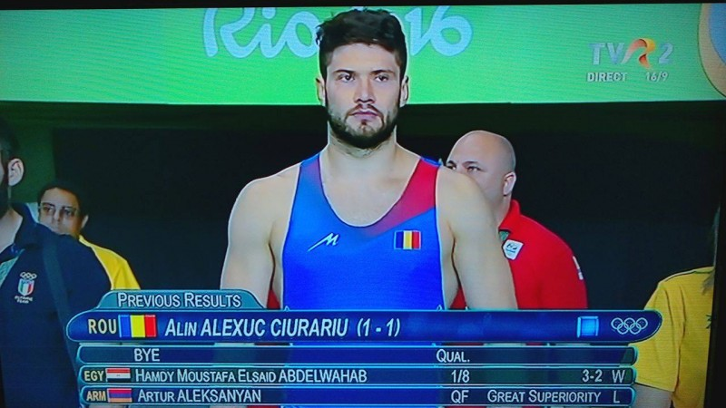 Alin Alexuc a pierdut finala de BRONZ de la RIO! Botoșăneanul a fost învins de un turc!