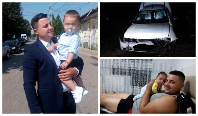 Alin se grăbea spre casă, să-şi vadă băieţelul de un an. A fost scos din maşină mutilat şi orb