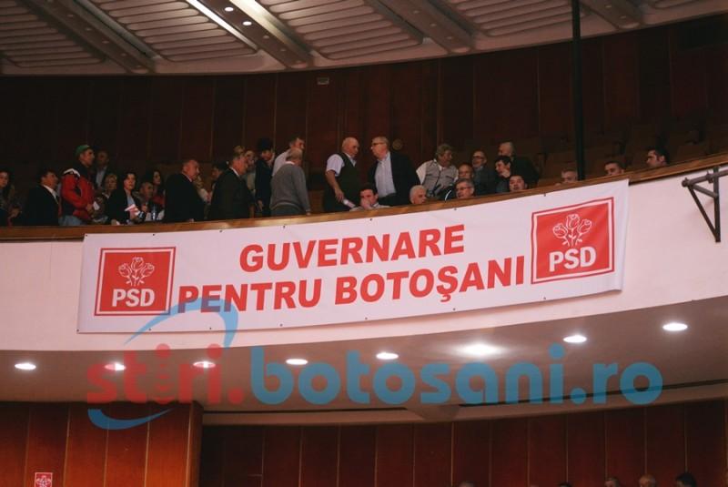 Alegerile pentru noua conducere a PSD Botoșani, amânate!