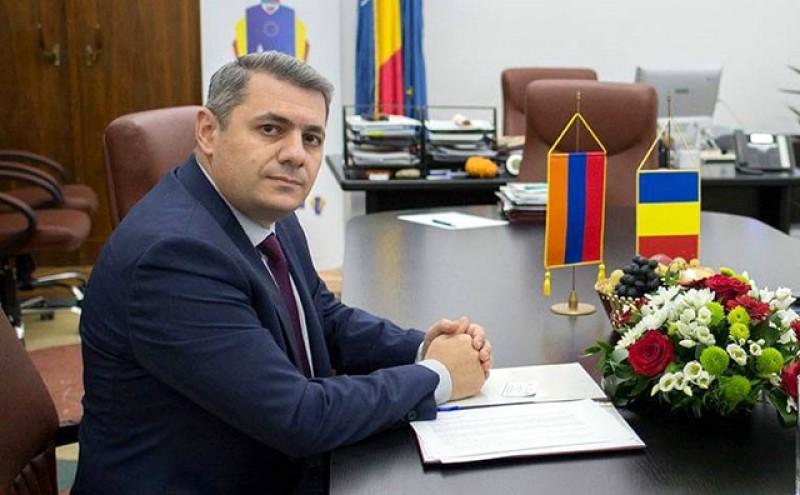 Ambasadorul Republicii Armenia, Sergey Minasyan, ajunge mâine al Botoșani