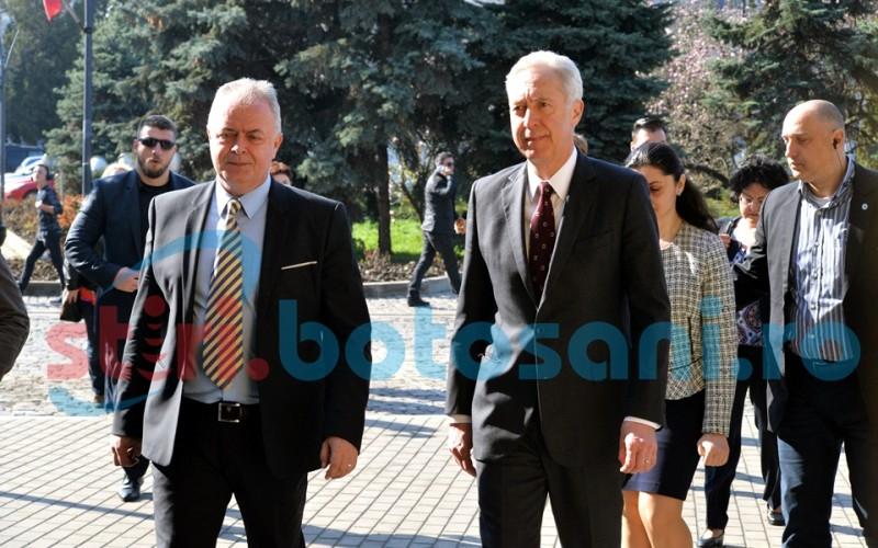 Ambasadorul SUA in Romania, intalnire cu oficialitatile locale din Botosani! FOTO