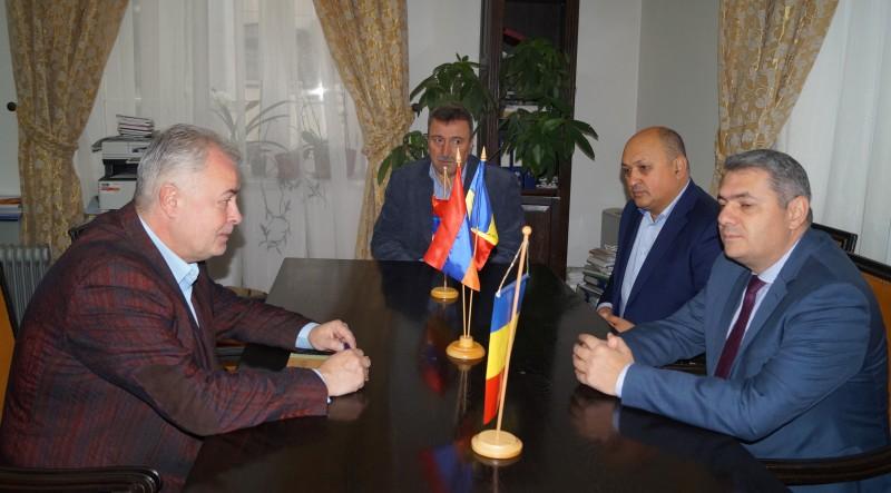 Ambasadorului Armeniei a ajuns în vizită la Botoșani