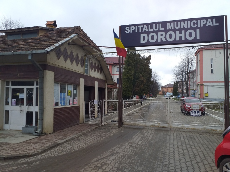 Amendă de 10.000 de lei aplicată Spitalului Municipal Dorohoi pentru lipsa autorizaţiei de securitate la incendiu