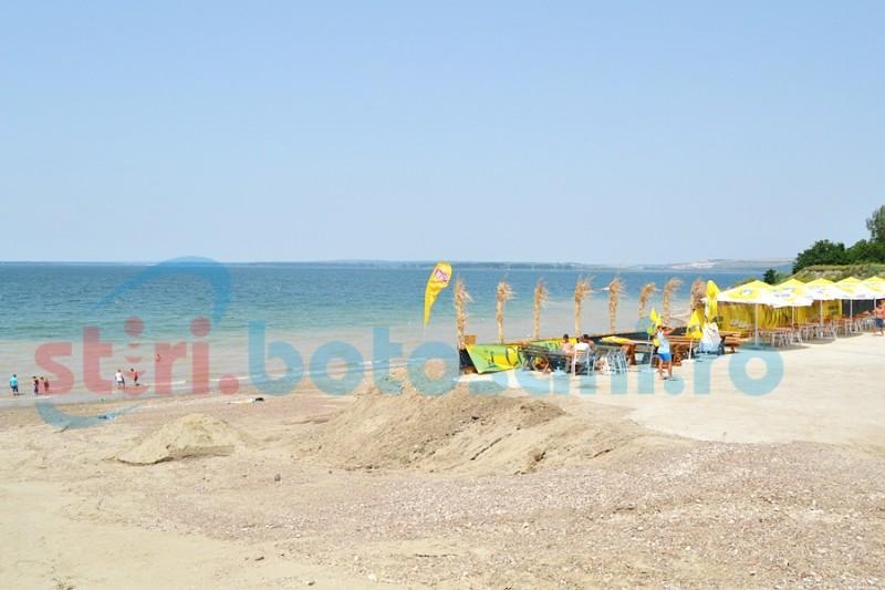 Amendă primită de agentul economic de pe plaja de la Stânca