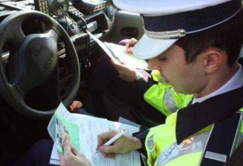 Amendă uriașă primită de un șofer din Botoșani!