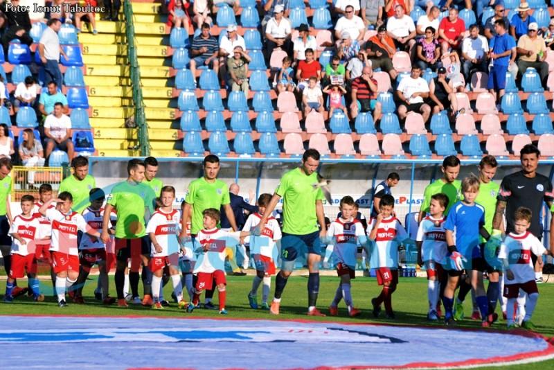 Amenzi date de jandarmi la meciul din Cupa Ligii!