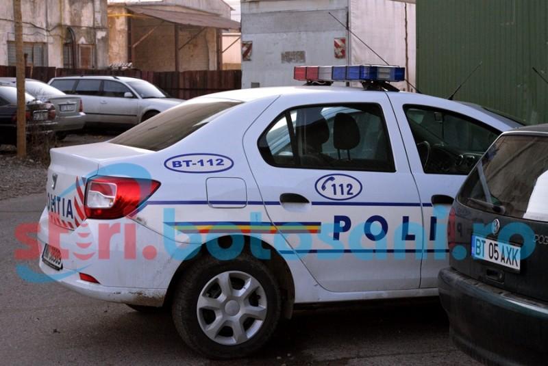 Amenzi împărţite de poliţiştii botoşăneni după o razie de amploare! Un șofer a rămas fără mașină!