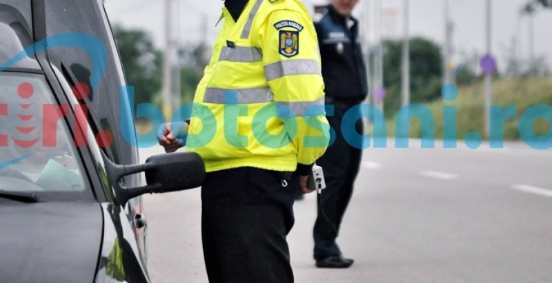 Zeci de amenzi aplicate de poliţiştii rutieri pe şoselele din judeţ!