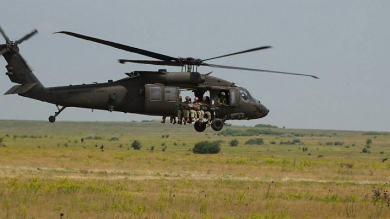 Americanii aduc in Romania elicoptere de lupta si tancuri