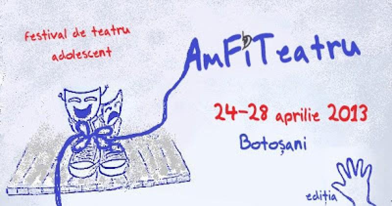 AmFiTeatru – festival de teatru adolescent, 24-28 aprilie. VEZI programul!