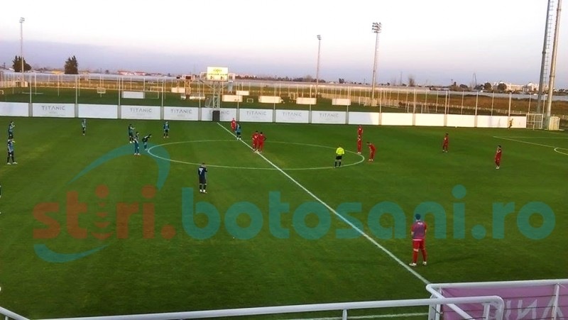 AMICAL: FC Botosani a condus la pauza, insa a fost invinsa de FC Slovacko