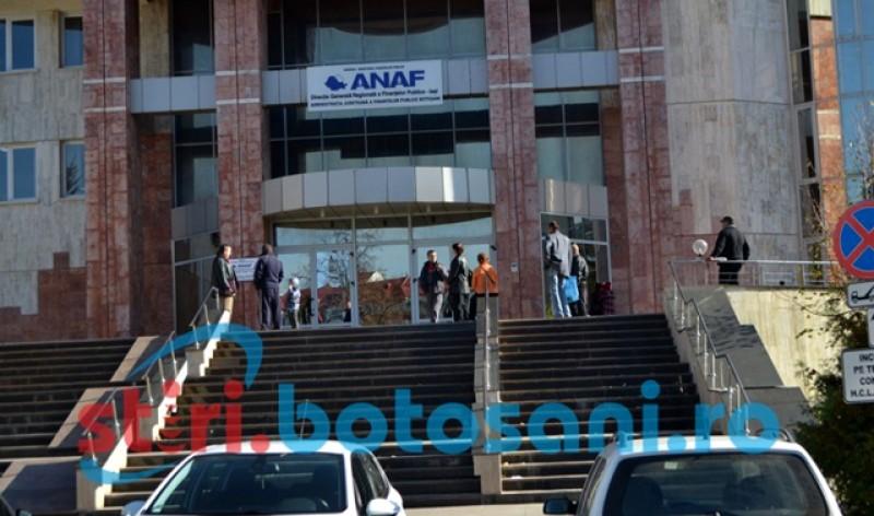 ANAF Botoșani: Astăzi, ultima zi pentru depunerea Declarației unice