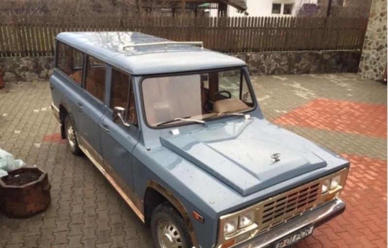 ANAF scoate din nou la vânzare maşina Aro a lui Ceauşescu, la un preţ mai mic decât la prima licitaţie