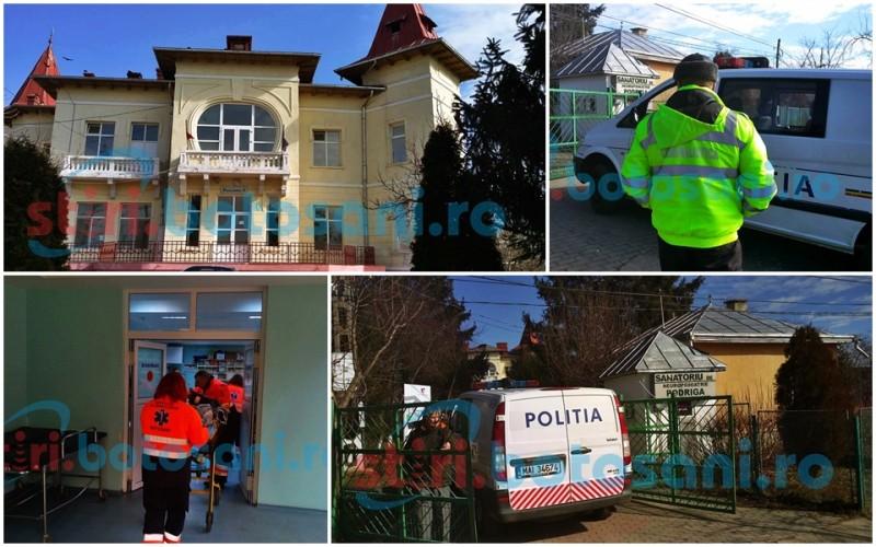 ANCHETA la Sanatoriul Podriga! Doi pacienti s-au batut, unul dintre ei a DECEDAT - GALERIE FOTO