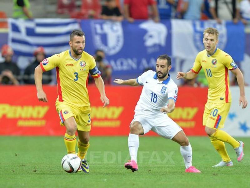Andone a jucat 10 minute in Romania - Grecia 0-0