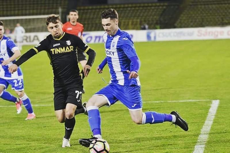 """Andrei Burlacu, dupa eliminarea din Cupa Romaniei cu CSU Craiova: """"Sper sa iau lucrurile pozitive din acest meci"""""""