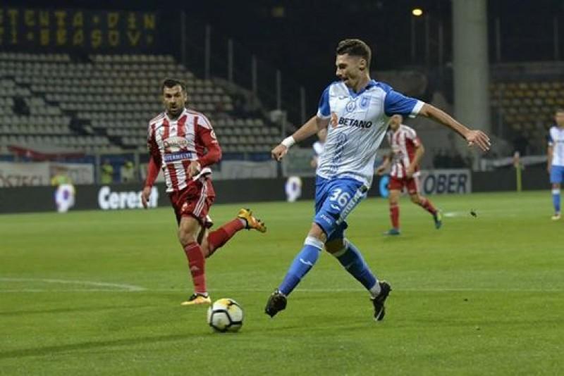 Andrei Burlacu impresioneaza in continuare la Universitatea Craiova! Un nou gol pentru tanarul botosanean! VIDEO