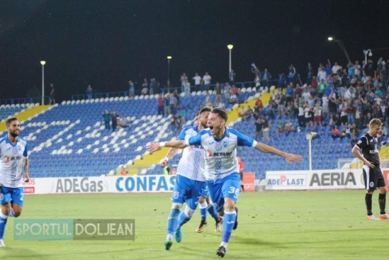 Andrei Burlacu sarbatoreste primul gol in Liga 1 cu antrenamente! FOTO, VIDEO