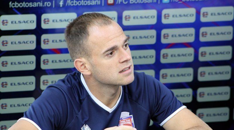 """Andrei Patache, înaintea meciului de la Mediaș: """"Avem entuziasm, însă trebuie să arătăm și pe teren acest lucru"""""""