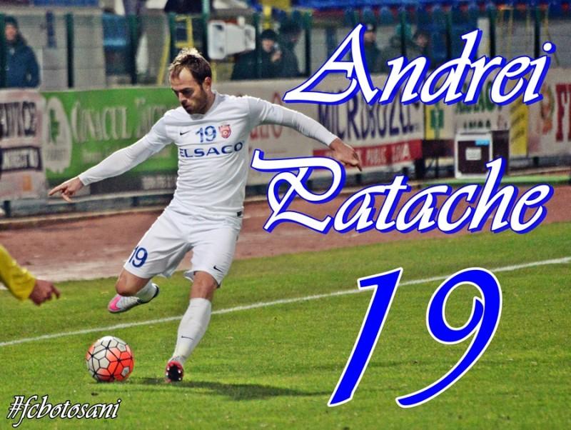 Andrei Patache, pe locul doi intr-un clasament al celor mai FIDELI jucatori din prima liga: 13 sezoane in tricoul FC Botosani