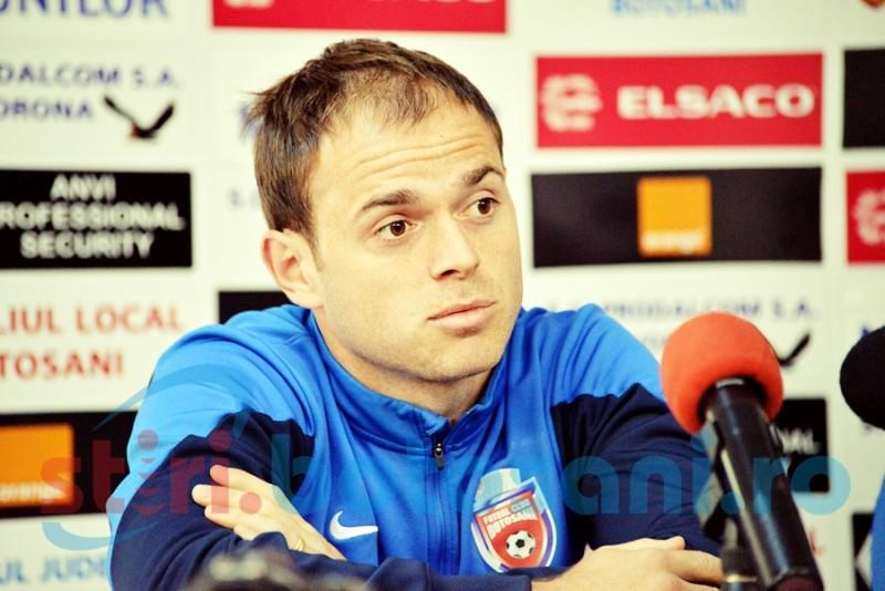 """Andrei Patache: """"Nu ne temem de CFR. Luptam de la egal la egal cu orice echipa"""""""