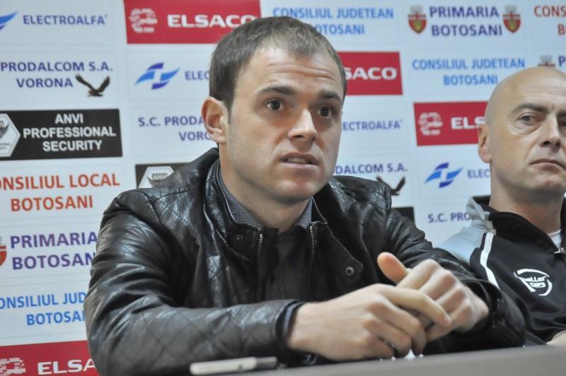 """Andrei Patache: """"Trebuie sa avem mai mult curaj, pentru ca ne-am respectat prea mult adversarul"""""""