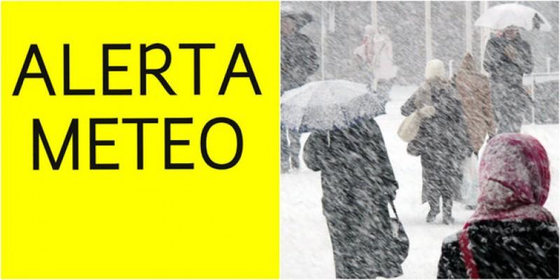 ANM ar putea prelungi codul PORTOCALIU de ninsori şi viscol până pe 2 martie