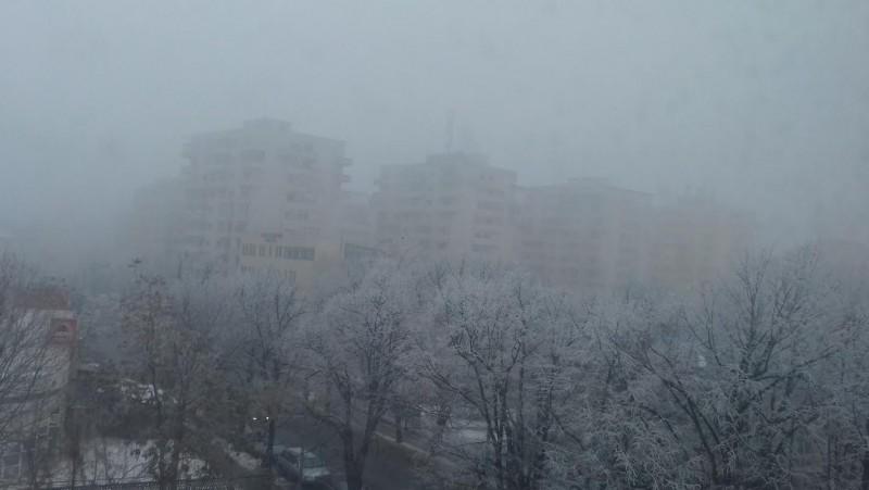 ANM: Cod galben de ceață și ghețuș în județul Botoșani