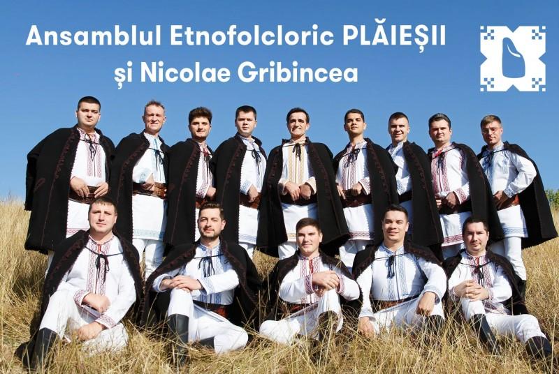 """Ansamblul """"Plăieșii"""" va concerta la Botoşani"""