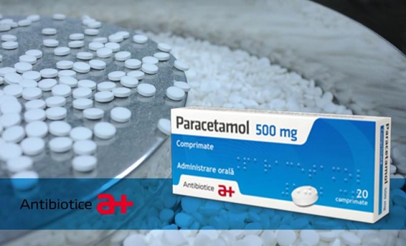Antibiotice Iași a reluat producția de Paracetamol și Novocalmin