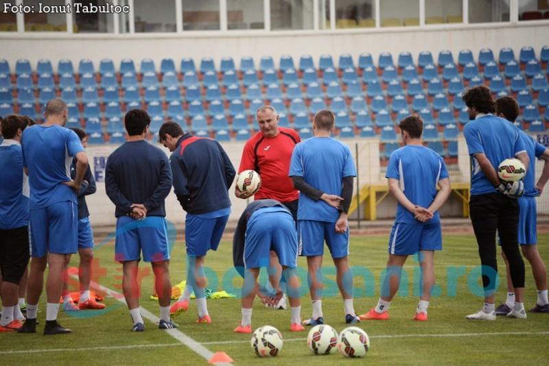 Antrenament oficial al celor de la Spartak Tskhinvali! Vezi ce spune antrenorul oaspetilor despre meci! GALERIE FOTO