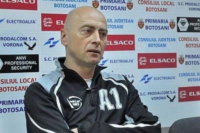 """Antrenorul Botosaniului, inaintea meciului cu Steaua: """"Vom incerca sa ne ridicam la nivelul adversarului"""""""